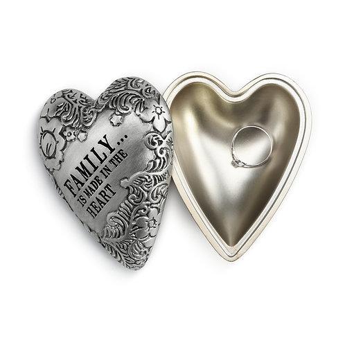 Family Art Heart Keeper Box