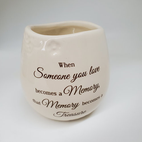 Memory  8 oz - 100% Soy Wax Candle Scent: Tranquility