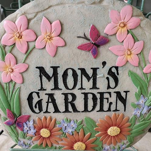Mom's Garden Stepping Stone
