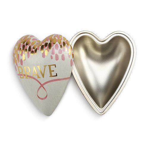 Brave Art Heart Keeper Box