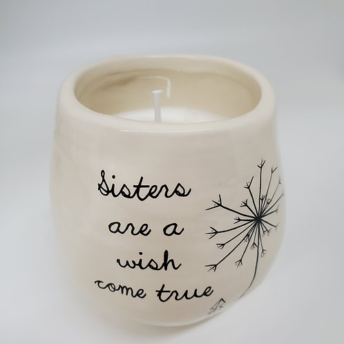 Sister 8 oz - 100% Soy Wax Candle Scent: Serenity