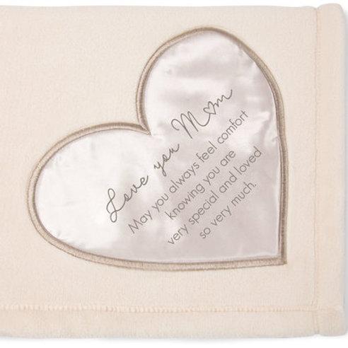 LOVE YOU MOM Ultra Soft Plush Throw Blanket