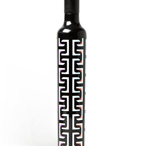 Vinrella Geometric Black Wine Bottle Umbrella