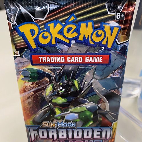 Pokemon Sun and Moon Forbidden Light  Pack