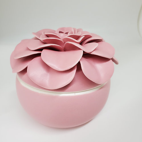 ILLUME Ceramic Flower Candle Thai Lilly