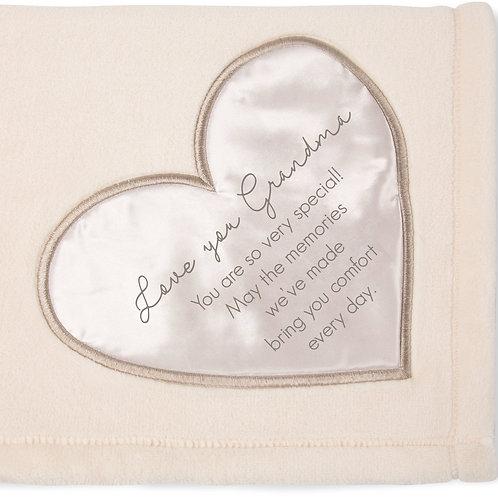 LOVE YOU GRANDMA Ultra Soft Plush Throw Blanket