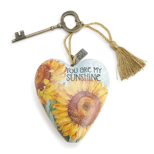 DEMDACO You Are My Sunshine Art Heart