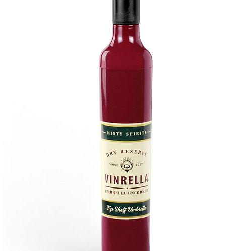 Vinrella Burgundy Labeled Wine Bottle Umbrella