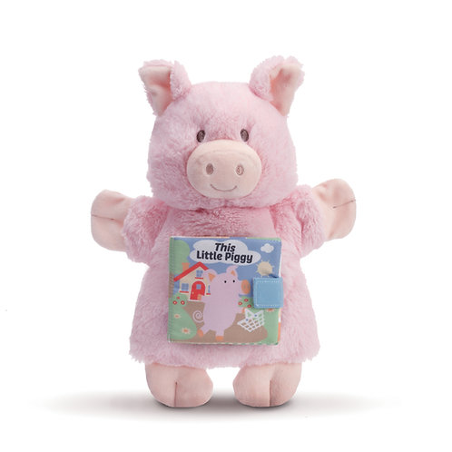 DEMDACO This Little Piggy Puppet Book