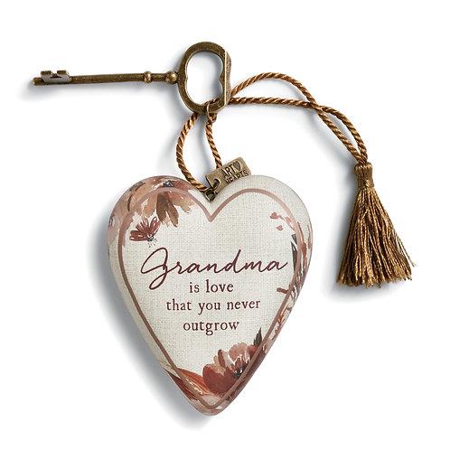 DEMDACO Grandma is Love Art Heart