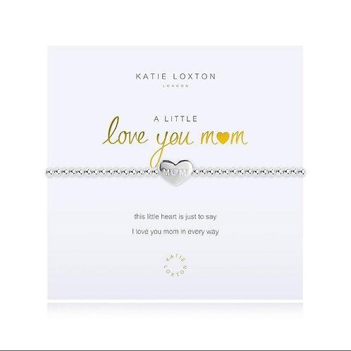 Katie Loxton Love You Mom Stretch Bracelet