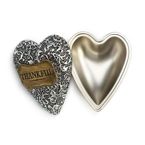 Thankful Heart Keeper Art Heart