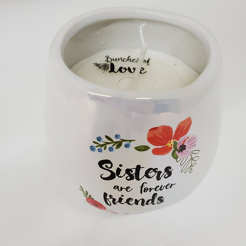 Sisters 8 oz - 100% Soy Wax Candle Scent: Serenity