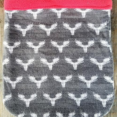 Grey/Pink Moose