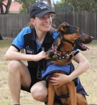Melanie Scott K9 Training