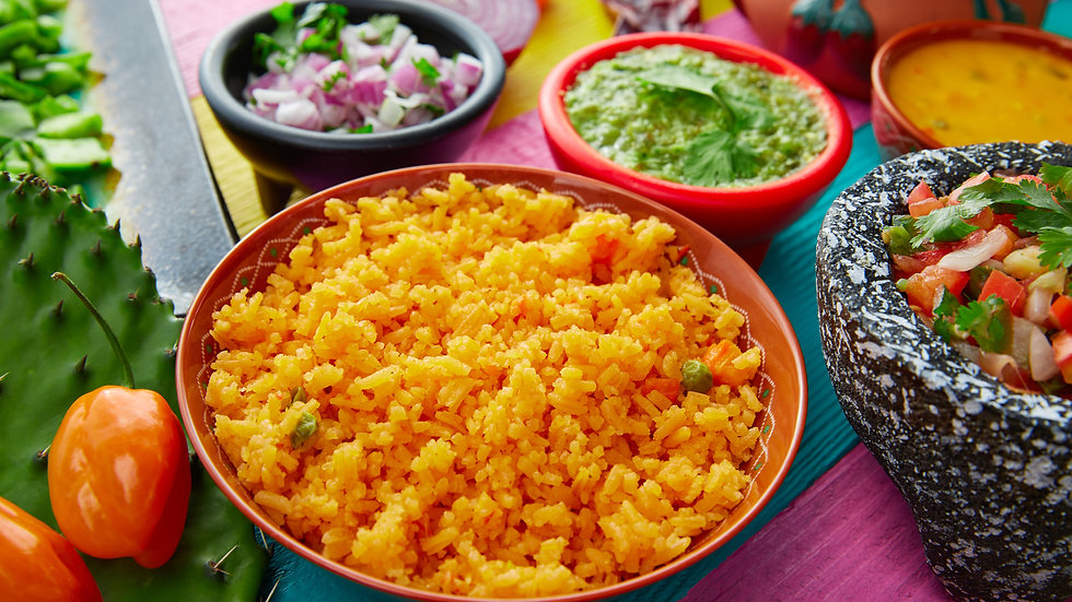Rice (Mexican Style) Cooked, IQF x 2kg