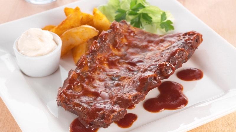 Pork Babyback Loin Ribs x 10kg (App 16 x 650g racks)