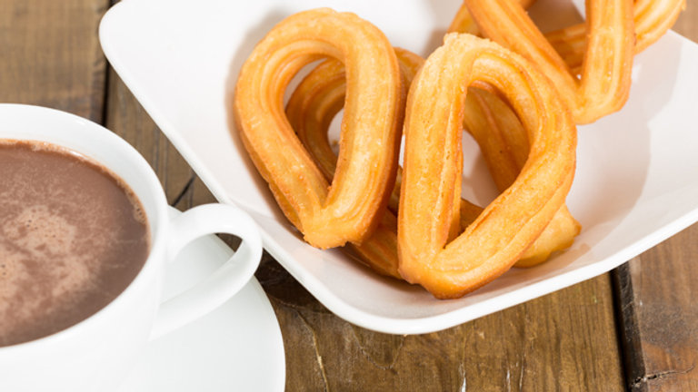 Churro (Loops) - Frzn to Fry - 1kg