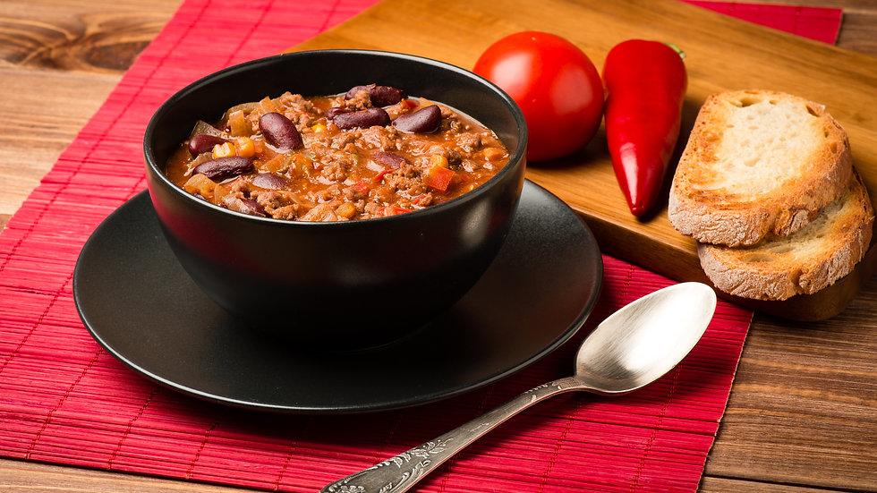 Beef Chili (Frozen) x 1kg