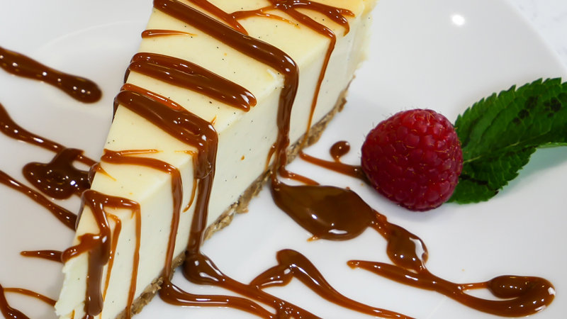 Cheesecake New York Style Baked - 14ptn - Frozen