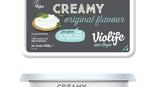 Vegan Creamy Soft Cheese (Violife) x 200g