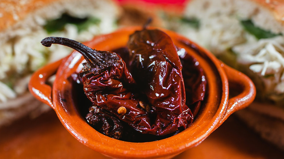 Chipotle Chilies (Can) - Smoked Jalapeños in Adobo Sauce - 215g