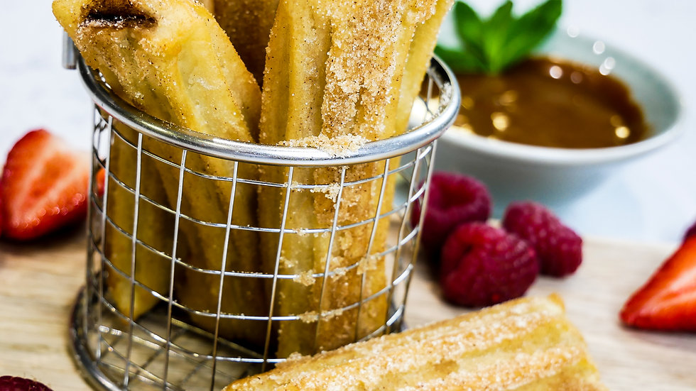Churros - Chocolate Filled - Frzn to Fry - 1kg
