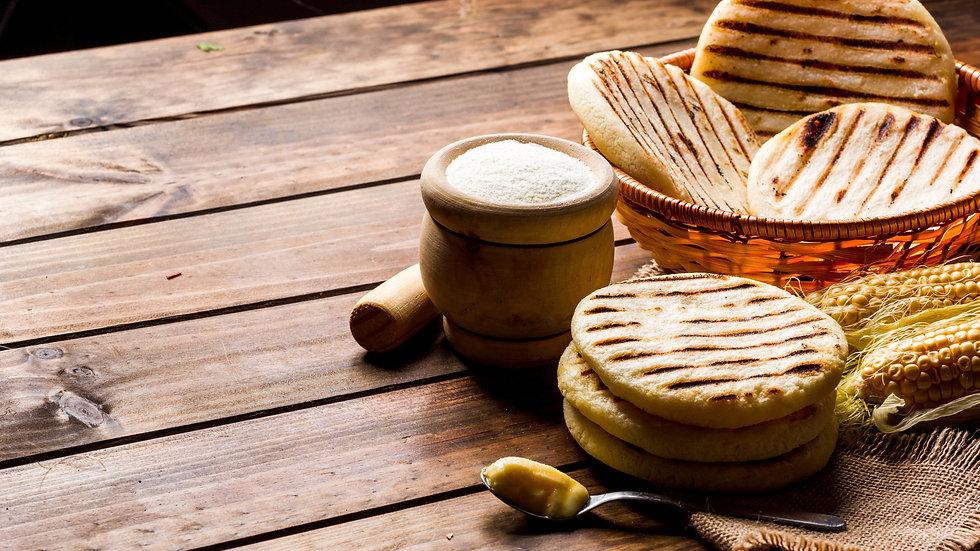 Arepa Corn Breads x 4pcs