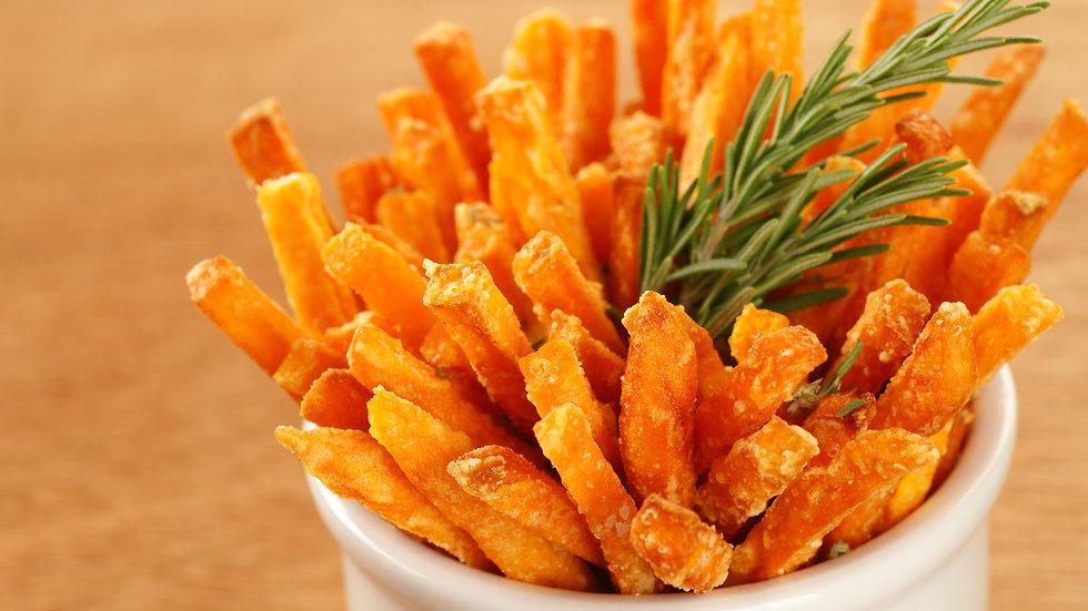 Sweet Potato Fries - Frzn  x 2.5kg