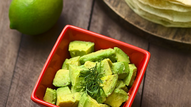 Avocado (Hass) Diced IQF x 500g