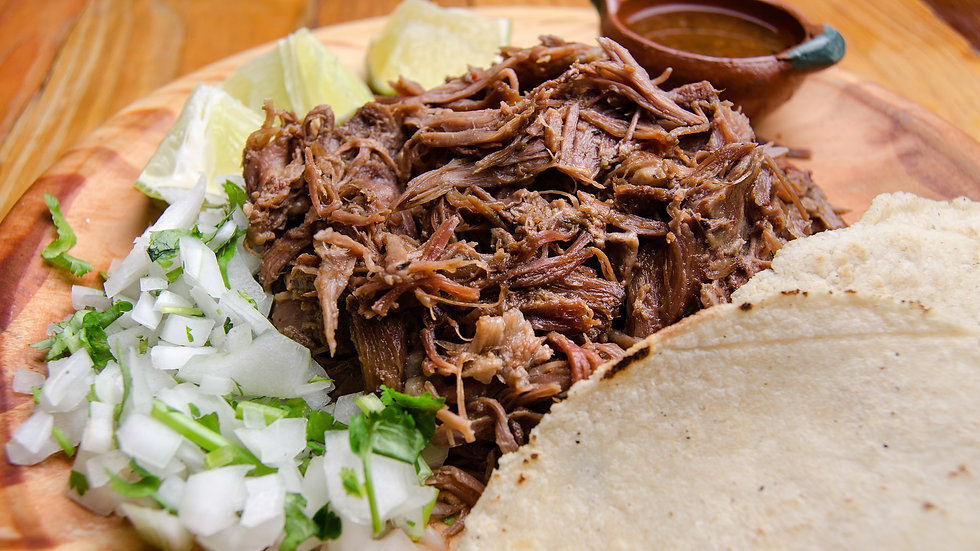 Barbacoa Beef (Pulled) in Chipotle Salsa x 1kg