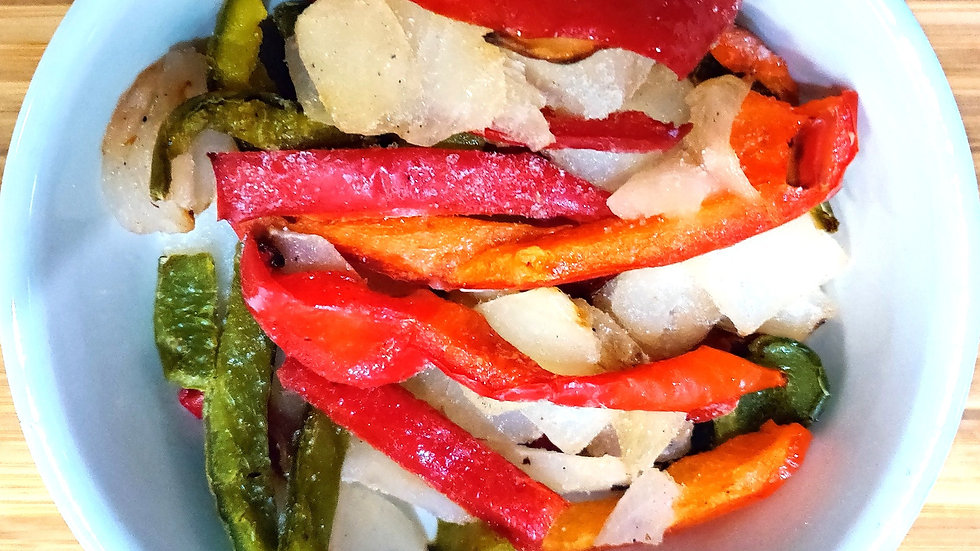 Mixed Peppers and Onions (Chargrilled, IQF) x 2.5kg