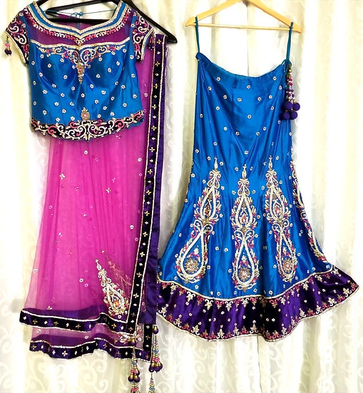 Fish-Cut Lehenga Choli