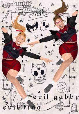 Evil Tina & Evil Gabby