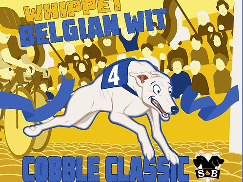 Cobble Classic - Whippet Belgian Witbier (6 x 330ml)
