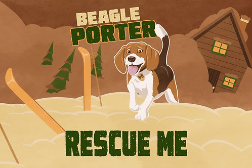 Rescue Me- Beagle Porter (3 x 750ml)