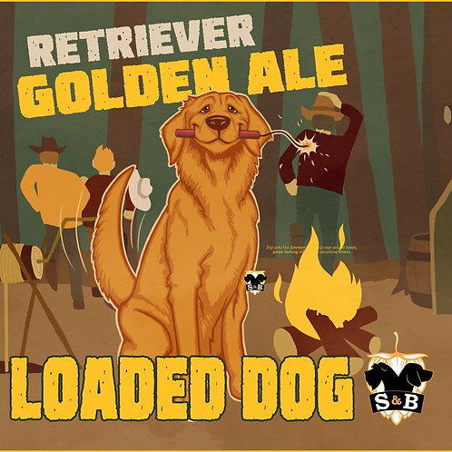 Loaded Dog - Retriever, Golden Ale (6 x 330ml)