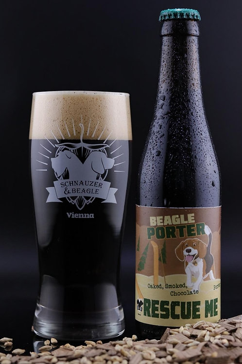 The Schnauzer & Beagle Glass