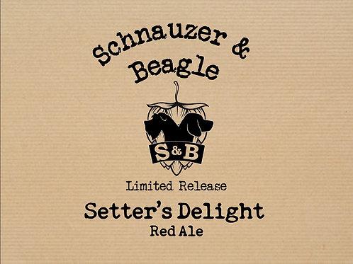 Setter's Delight - Irish Setter - Red Ale (6 x 330ml)