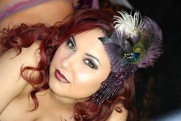 Purple Peacock Passion