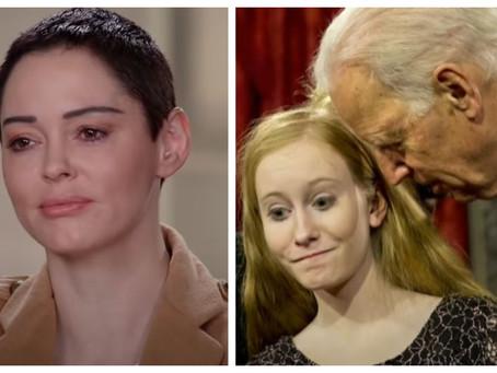"Rose McGowan: ""Joe Biden er voldtægtsmand"""