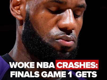 """Seertallet til NBA-finalerne falder drastisk efter """"antiracistiske"""" budskaber"""