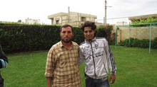 Basset Safely out of Homs