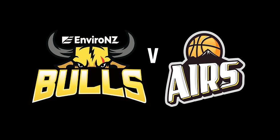 Free EnviroNZ Bulls Watch Party - EnviroNZ Bulls vs Taranaki MountainAirs