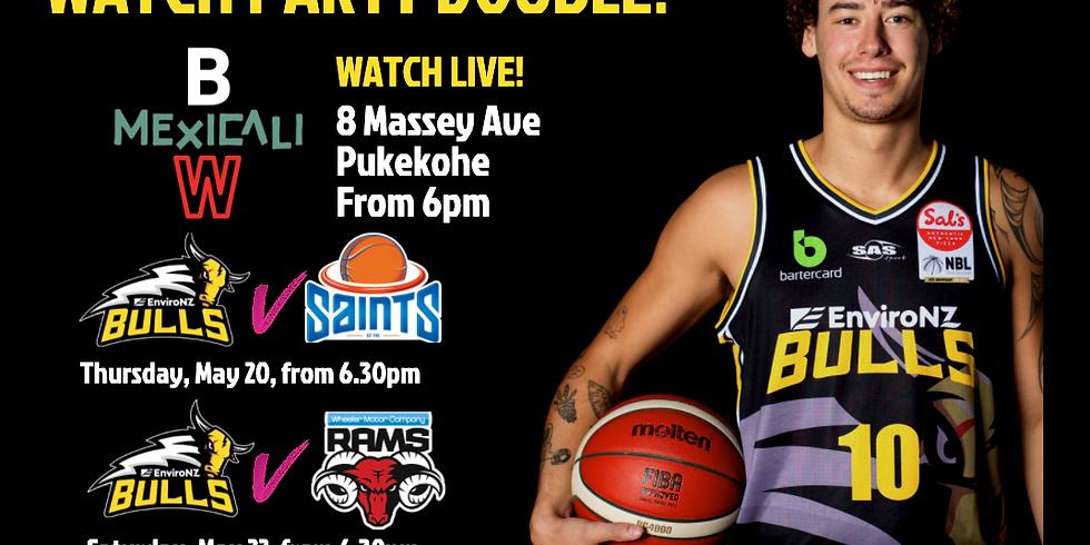 WATCH PARTY: EnviroNZ Bulls vs the Wellington Saints