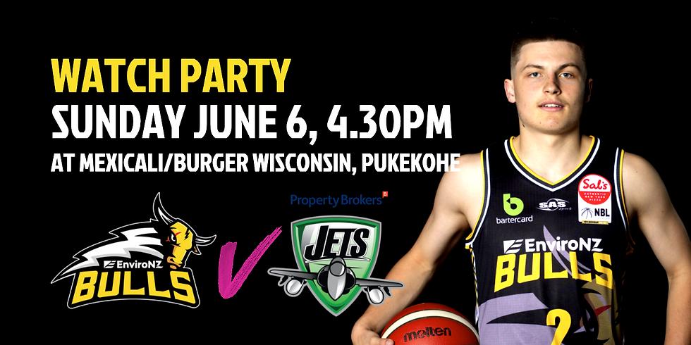 WATCH PARTY: EnviroNZ Bulls vs the Manawatu Jets