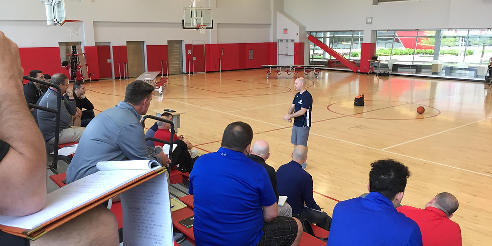 Chris Oliver, U16 to U19 Player Clinic - Player Session 2