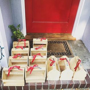 wooden art box