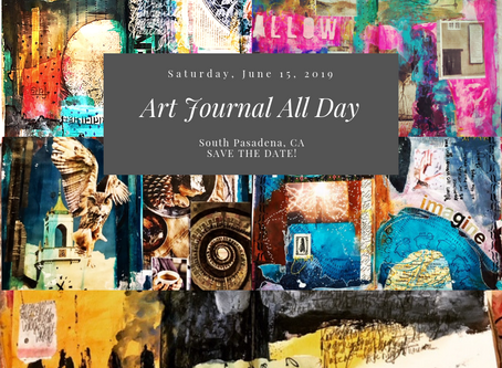 Save the Date: Art Journaling All Day