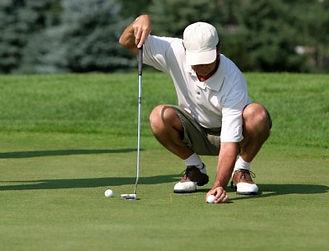 knee pain golf